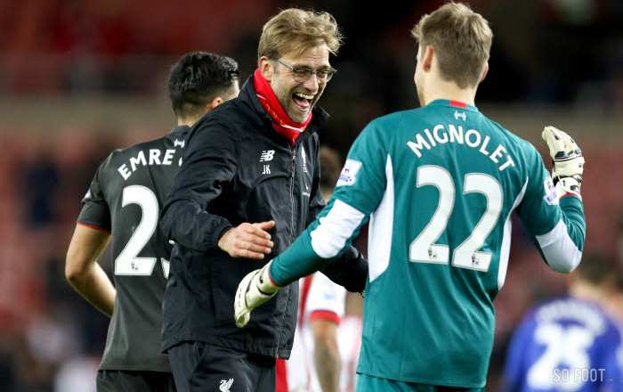 Maillot THIRD Liverpool Simon Mignolet