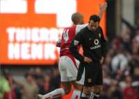 Thierry Henry et Ryan Giggs