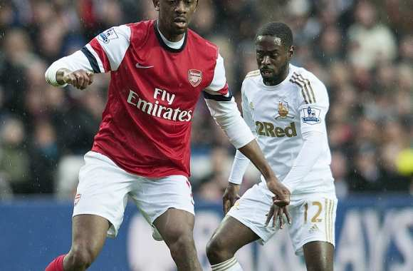 Abou Diaby (Arsenal) vs Nathan Dyer (Swansea)