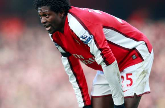 Adebayor, période Arsenal