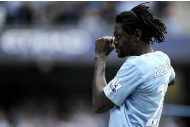 Adebayor suivi par le Real