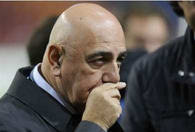 Adriano Galliani blessé