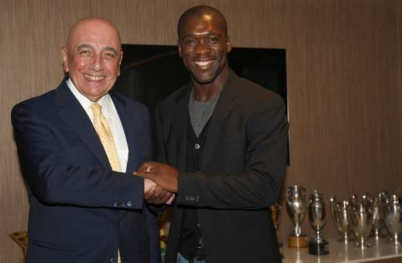 Adriano Galliani et son nouveau coach Clarence Seedorf
