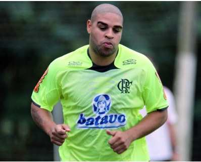 Adriano out 5 mois