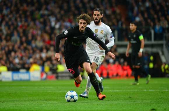 Adrien Rabiot face au Real Madrid