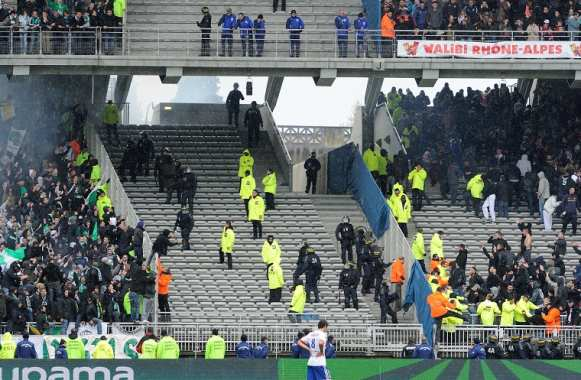 Agression d'un supporter stéphanois