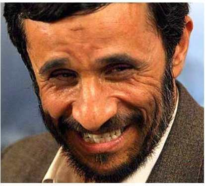 Ahmadinejad contre Paul le poulpe