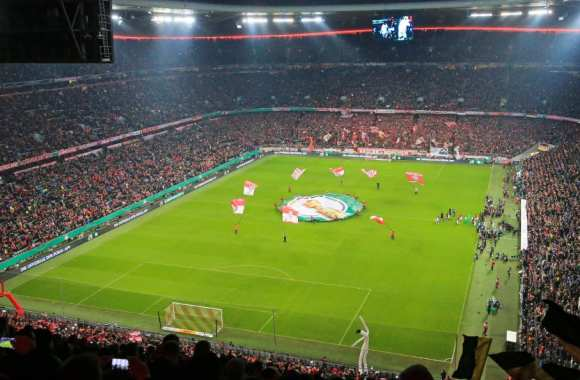 Air BnB transforme la pelouse de l'Allianz Arena en hôtel