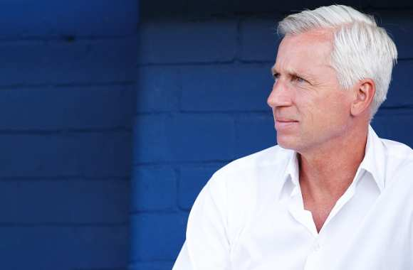 Alan Pardew, coach de Newcastle