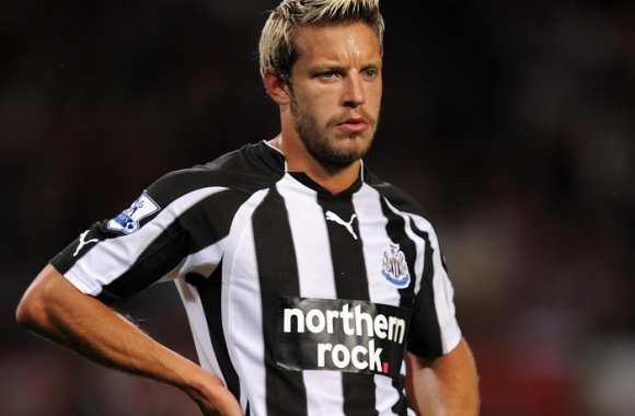 Alan Smith avec Newcastle en 2010