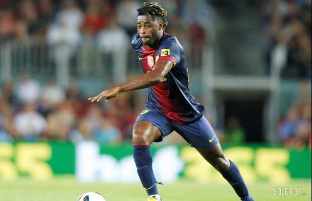 Alex Song a le blues