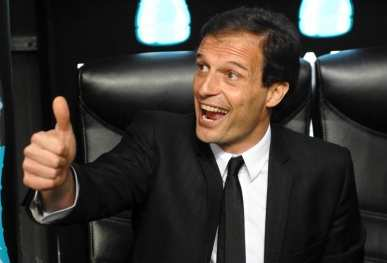 Allegri, 15 points ou rien