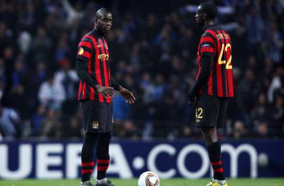 Altercation Balotelli/Touré ?