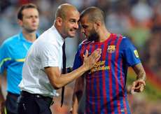 Alves, Guardiola et Einstein