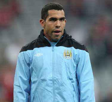 Amende d'un million pour Tevez