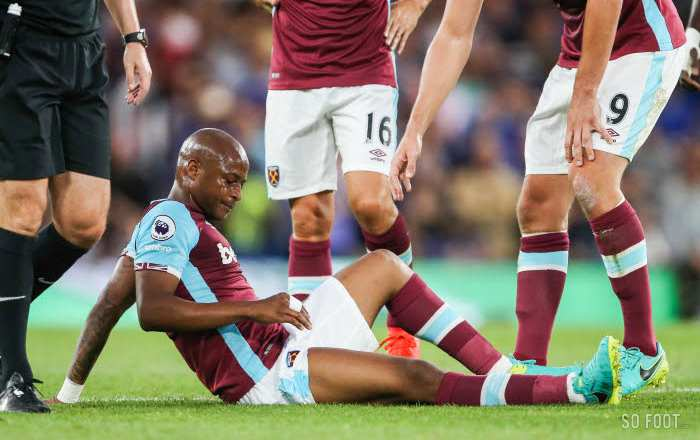 André Ayew is back