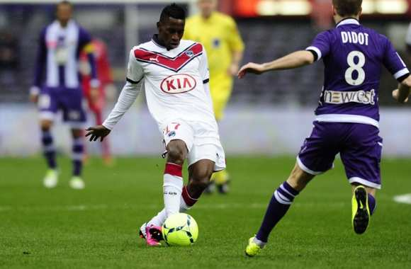 Andre Poko face à Toulouse (0-0)