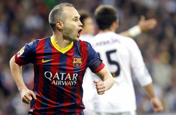 Andres Iniesta buteur face au Real