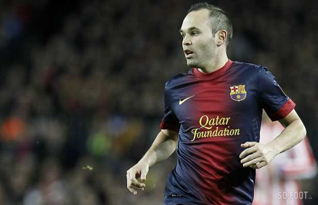 Andr�s Iniesta (FC Barcelone)