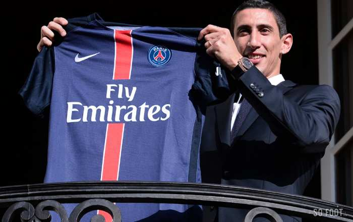 Angel Di Maria enfin à Paris