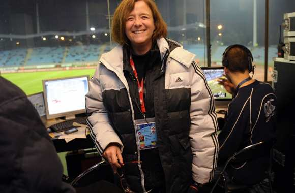 Anne-Sophie Roquette, speakerine du LOSC