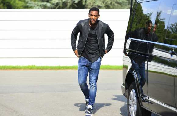 Anthony Martial et le futur mini-bus des Ulis ?