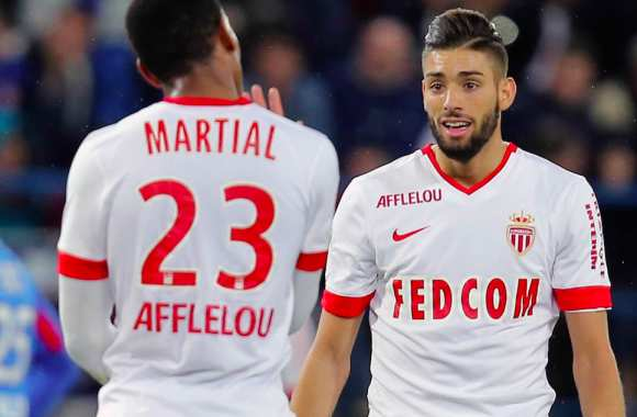 Anthony Martial et Yannick Ferreira Carrasco