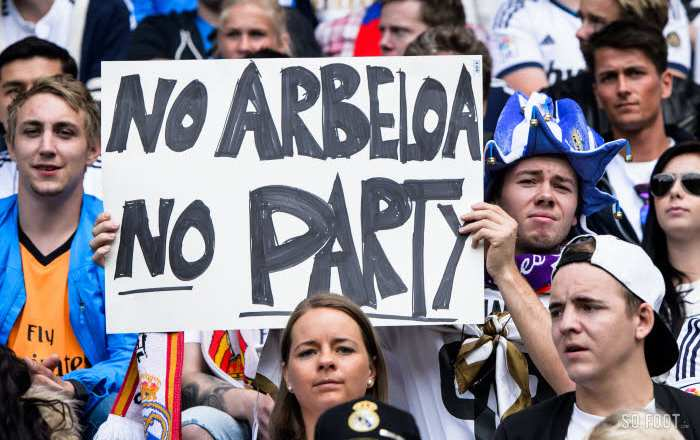 Arbeloa remercie les supporters du Real Madrid