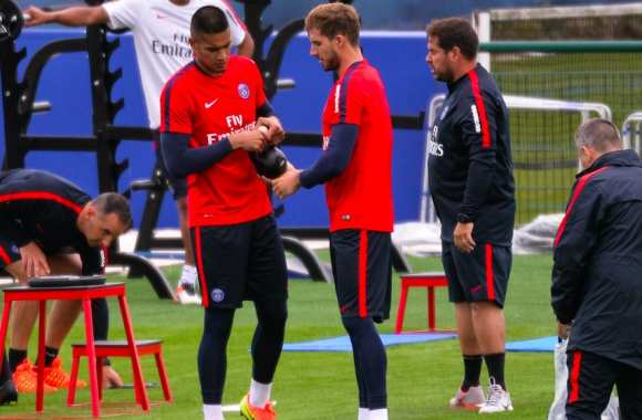 Areola et Kevin Trapp