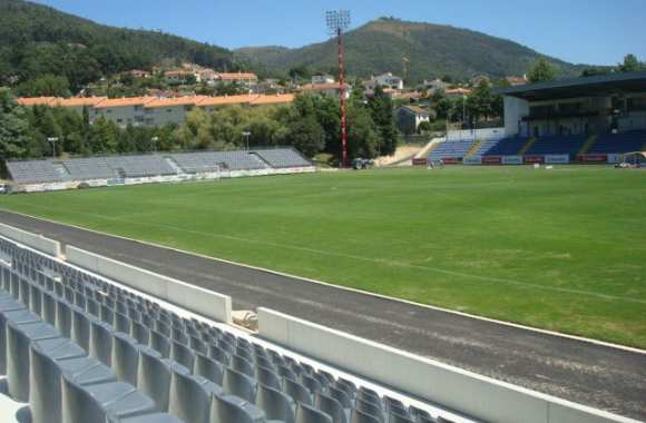 Arouca et son stade municipal.