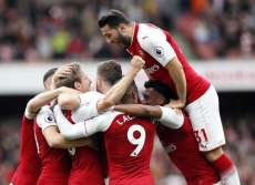 Arsenal confirme son redressement contre Brighton