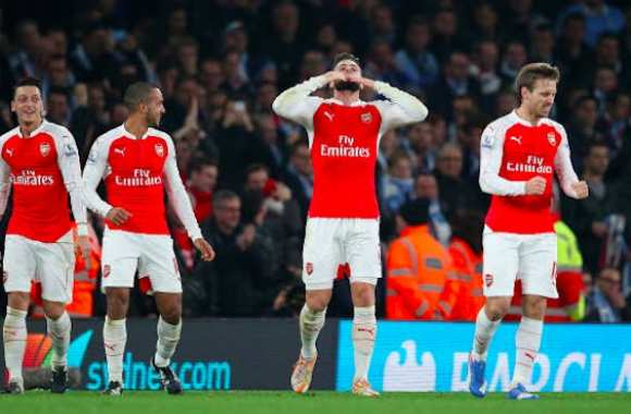 Arsenal donne la leçon à City