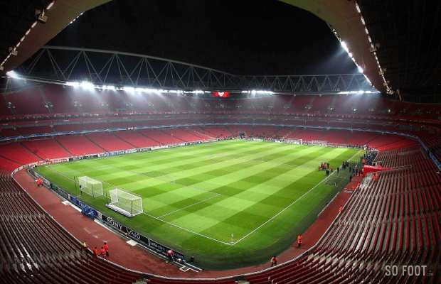 Arsenal : l'abonnement � 2000 euros