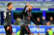 Arsenal se balade à Everton