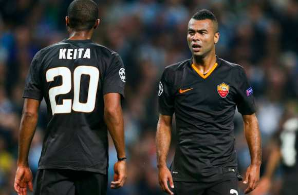 Ashley Cole à l'époque de la Roma