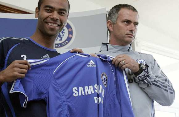 Ashley Cole et José Mourinho, époque Chelsea