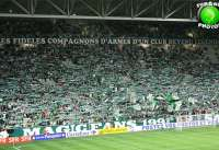 Atmosph�re tendue avant le derby OL-ASSE
