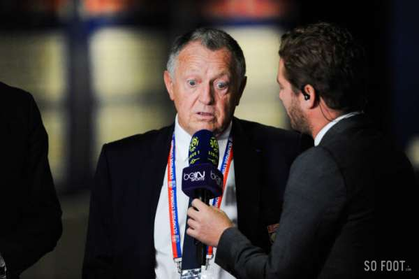Aulas tacle les supporters stéphanois