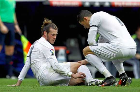 Bale absent plusieurs semaines