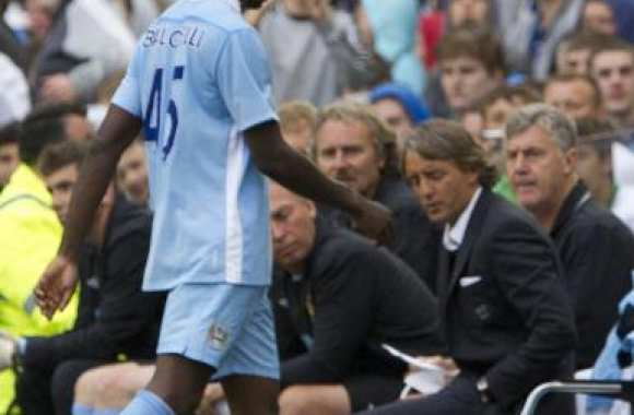 Balotelli sent le poisson