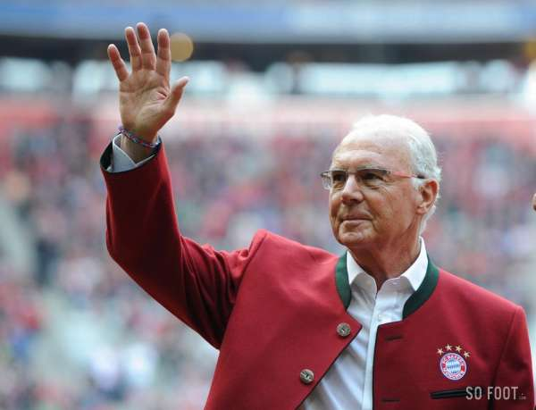 "Beckenbauer : ""Bienvenue au club, Deschamps"""
