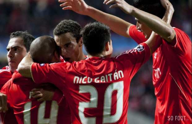 Benfica a une mal diction briser coupes d 39 europe so - Final coupe d europe 2008 ...