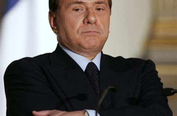 Berlusconi a souffert