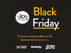 Black Friday // -30% sur les abonnements
