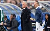 Didier Deschamps et Franck Rib�ry (�quipe de France)