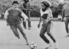 Bob Marley et son maillot Europe 1.