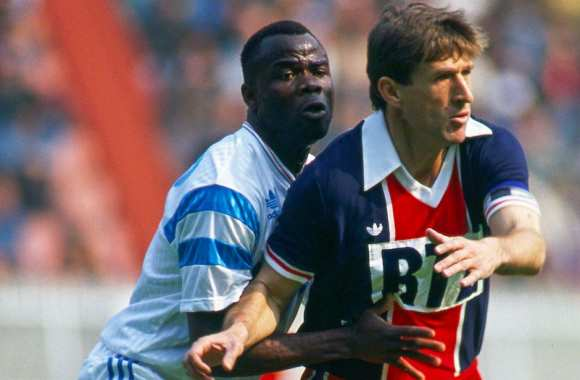 Bol face à Safet Susic en 1991