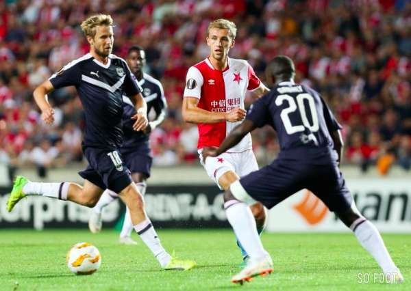 Bordeaux bredouille face au Slavia Prague