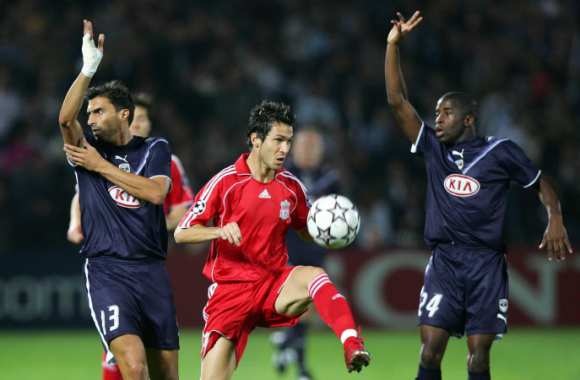 Bordeaux/Liverpool, en octobre 2006