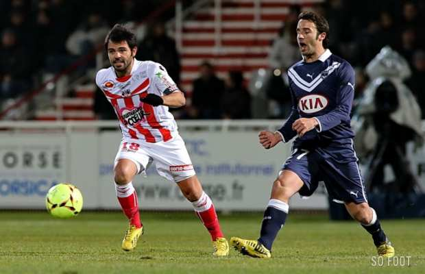 Bordeaux s'incline 1-0 � Ajaccio
